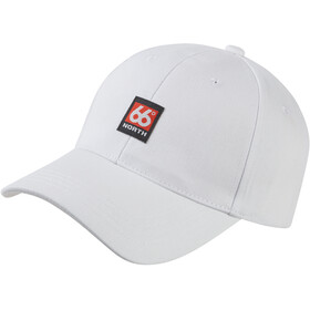 66° North Logn Patch Cap White